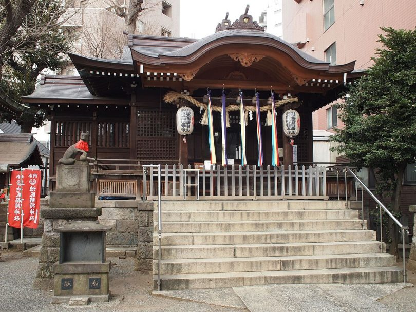 池尻稲荷神社拝殿