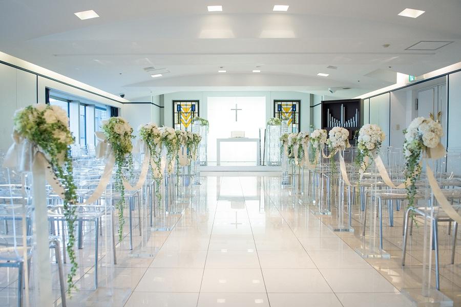 挙式のしたい!会費制結婚式で挙式は出来る??