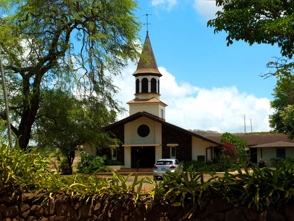 ハワイの歴史ある教会 と チャペル メリット・デメリット