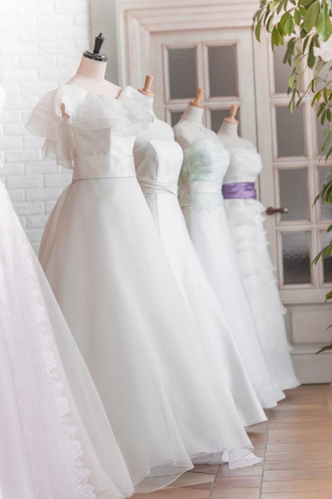 ウエディングドレスの選び方